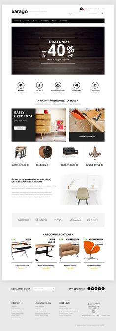 Xarago is a minimalist 4 in 1 responsive #WordPress #template for #decor #store eCommerce website download now➯ https://themeforest.net/item/xarago-minimalist-ecommerce-wordpress-theme/16750913?ref=Datasata