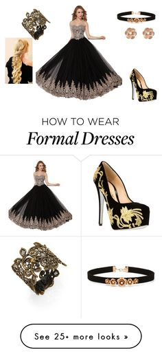 """""""Lady's Ball 2"""" by dixietough on Polyvore featuring Alberto Moretti, Forever 21, Alexander McQueen and New Look"""