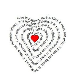 This fun site allows you to type in your own words (poem, story, etc) and then it turns it into a heart shaped page! Perfect for Valentines Day.  Could use for Bible Quote, as above, or a prayer or your wedding vows <3  I tried this, it works, and saves the picture for you as a pdf file.