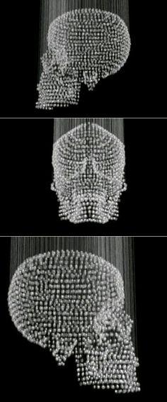 Lampara skull