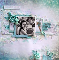 Cathy Can't Help Herself: Kaisercraft DT - More October Creations with Fairy Dust and Ma Cherie Scrapbook Page Layouts, Scrapbook Pages, Mixed Media Scrapbooking, Scrapbooking Ideas, Digital Scrapbooking, Mermaid Tale, Image Layout, Fairy Princesses, General Crafts