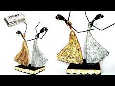 How to make dancing doll from Newspaper and Tissue paper | African doll - YouTube