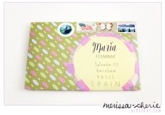 MERISSA CHERIE: The Happy Mail Project | To Maria in Spain