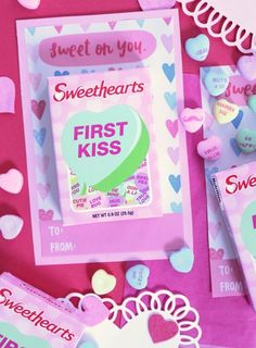 Printable Valentine's Day Card: Sweethearts — Won't You Be My Valentine?