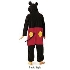 Unisex Fleece Kigurumi (Mickey Mouse)