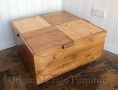 Coffee Table side or occasional table with 4 by OriginalCrate