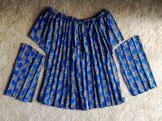 Make a shirt from a skirt #refashion