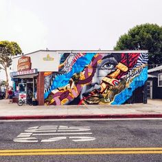 Tristan Eaton and Richard Henderson (2014), Santa Monica (USA)