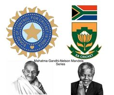 BCCI and CSA declared that India-South Africa bilateral series will be known as The Mahatma Gandhi-Nelson Mandela Series and will play for Freedom Trophy.