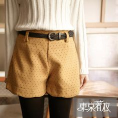Buy 'Tokyo Fashion – Scalloped-Hem Dotted Shorts' with Free International Shipping at YesStyle.com. Browse and shop for thousands of Asian fashion items from Taiwan and more!