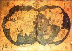 """Does a 600-year-old Chinese map prove that  Christopher Columbus was not the first explorer to navigate the New World? In his book """"Who Disc..."""