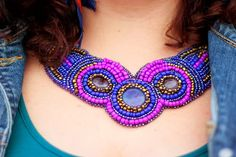Jewelry Collection, Crochet Necklace, Autumn, Colour, Jewellery, Photo And Video, Fashion, Color, Moda
