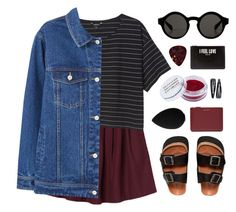 """""""Birks"""" by amazing-abby ❤ liked on Polyvore featuring Monki, MANGO, Sixtyseven, Comme des Garçons, Obsessive Compulsive Cosmetics, beautyblender, Forever 21 and Givenchy"""