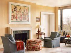 Traditional Living Room in US by Jayne Design Studio