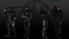 Fireteam Arcane by RenderWindowStudios on DeviantArt