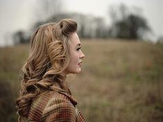 #vintage hairstyle