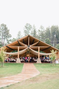 Wedding Venue Ideas 10 Amazing Northwest Wedding Venues - This festive fall wedding at Custer State Park Resort was full of jewel toned flowers and bursting with elegantly-done DIY rustic decor. Outdoor Pavilion, Pavilion Wedding, Outdoor Wedding Venues, Park Pavilion, Cheap Wedding Venues, Rustic Wedding Venues, Wedding Events, Rustic Weddings, State Parks