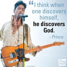 I don't know if this is an actual quote from Prince but I agree completely. The last 5 months have brought me closer to God than I ever dreamed possible. #RIPPrince #LegendsNeverDie