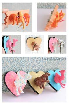 Plastic Animal Craft Tutorials