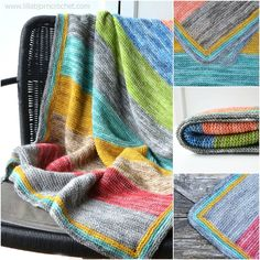 Spirit Baby Blanket: free knitting pattern : Forest Spirits baby blanket is a very easy knitting project suiteable for beginners. Free pattern by Lilla Bjorn Crochet Baby Knitting Patterns, Free Knitting, Knitting Machine, Beginner Knitting Projects, Knitting For Beginners, Crochet Projects, Knitted Baby Blankets, Knitted Blankets, Cozy Blankets