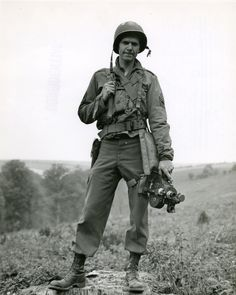 Val C. Pope served with a U.S. Army Signal Corps during World War II. He was one of the first combat cameramen to make it ashore on D-Day. He landed on Omaha Beach sometime during the morning of June 6th. Armed only with a movie camera, Val set about capturing the chaos on Omaha as it unfolded around them including rescue of several drowning GI's. whose landing craft had been hit by enemy fire