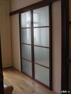 межкомнатные перегородки, раздвижные двери