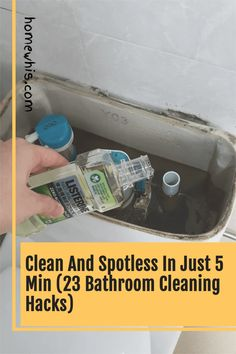 Discover the 23 cleaning hacks that are safe, effective and could potentially save you hundreds of dollars every year all within this article. Learn how to remove permanent stains, tough dirt, pet stains, grime and more with safe and natural cleaning ingredients like baking soda, vinegar, hydrogen peroxide and more! The blog post covers bathroom cleaning hacks, house cleaning tips and kitchen cleaning hacks. #homewhis #cleaning #clean #cleaninghacks #bakingsoda #vinegar Bathroom Counter Organization, Fridge Organization, Bathroom Cleaning Hacks, Home Organization Hacks, Kitchen Cleaning, House Cleaning Tips, Hydrogen Peroxide, Natural Cleaning Products, Clean House
