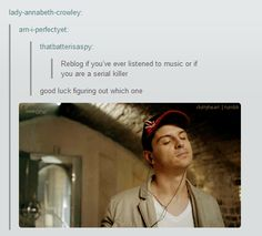 Sherlockians strike again// I'm pretty sure we keep track of the #serialkiller tag, just in case