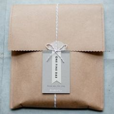 Ideas on how to wrap/package your products.