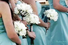 San Diego wedding photographer, Los Willows bridesmaids flowers