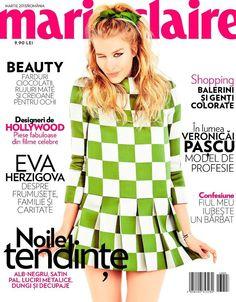 Annemara Post - Marie Claire Magazine Cover [Romania] (March 2013)