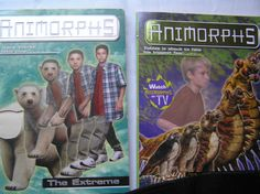 Animorphs Book Series Lot of 2 The Extreme The Test Scholastic Publication PBs