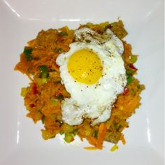 Sweet Potato Hash: Healthy, Clean Eating and Paleo