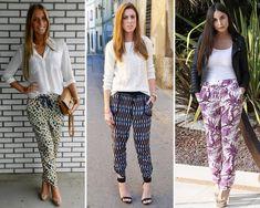 calças estampadas Moda Calça Pijama – Como Usar e Onde Comprar