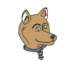 Dingo furry portrait