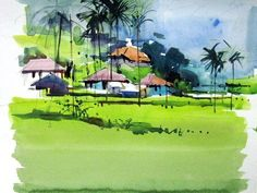 Milind Mulick Watercolour Paintings - 11