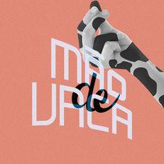Mão de vaca es una expresión Brasilera utilizada para designar a quien no le gusta gastar dinero o es tacaño.  #brasil#lettering#typography#brazil#design#portugues#type#handmadefont#hand_type#expresionesbrasileras#espressoesbrasileiras#ditadospopulares#maodevaca