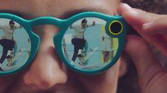 Snapchat endrer navn til Snap Inc. og lanserer en trådløs «kamera-solbrille». (Ill.: Skjermdump)