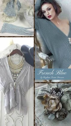 French Blue, it has that old world charm, but in an updated way.