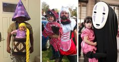Halloween's coming up and since we've featured adorable children's costumes and awesome adult costumes it's time to combine the two with parent and child costume ideas perfect for any family. Whether you're searching for inspiration or just opened this post to see some cute kids in costumes, the list compiled by Bored Panda has you covered.
