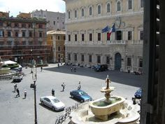 Piazza Farnese - Home of the French Embassy in Rome and the best place to chill on a sunny day.