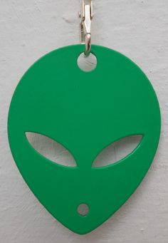 Alien Key ring from www.nest-homegrown.co.za