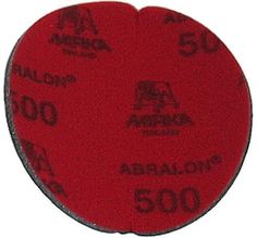 Abralon Sanding Pad 500 Grit by Classic. $8.99. Description: Do you need to sand your ball down to a different finish? If so this could be the perfect sanding pad for you. This is a 500 Grit sanding pad. It can be used wet, or dry. It works great with Powerhouse Ball Resurface. This sanding pad will last 5 times longer than sand paper. If you are looking to use a 500 Grit sanding pad on your ball then look at using this Abralon Sanding Pad 500 Grit. For medium sc...