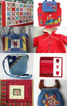 Quilted and Cozy by Sandra Hanken on Etsy--Pinned with TreasuryPin.com