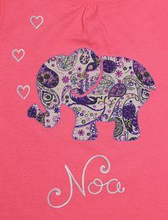 cocodrilova: conjunto bebe elefante  #conjuntobebe #camisetapersonalizada #bebe #elefante #hechoamano   conjunto-bebe-personalizado-elefante