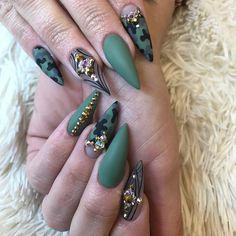 "4,815 Likes, 113 Comments - Ana karpova (@malishka702_nails) on Instagram: ""Nails by Lexi!"""