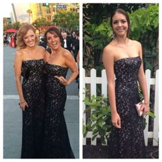 BCBG Worn oncetaking offers This amazing BCBG dress size 4 was worn once drycleaned and stored properly in a non-smoking home. Also included are shoulder straps that can be attached if you prefer. Entire dress is nude lined, appliquéd sequined lace. Black. BCBG Dresses Prom