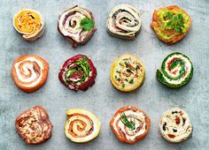Great ideas for party food..would like to have the cookbook, too.