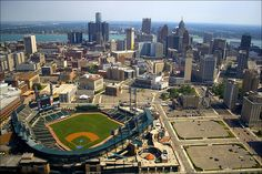 Top American Downtowns:  My Hometown - Detroit