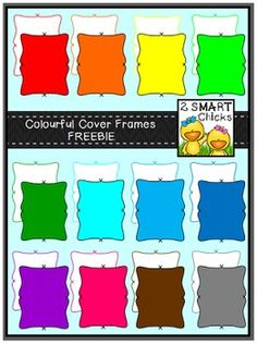 We are so excited to have reached our 500 follower milestone and wed like to celebrate it with yet another fun freebie! A special thank you goes out to each and every one of our fabulous 500 followers for your on-going support!Jazz up your products with our Colourful Cover Frames FREEBIE! 24 vibrant PNG file images are included in this set!